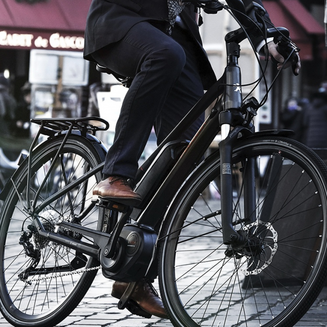 Electric trekking bike Peugeot