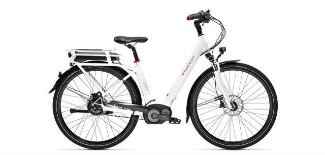 electric city bike Peugeot eC01 Nuvinci Belt