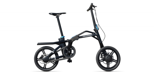 Folding electric ebike Peugeot eF01