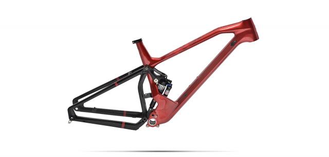 Custom Full suspension MTB Peugeot M01 FS
