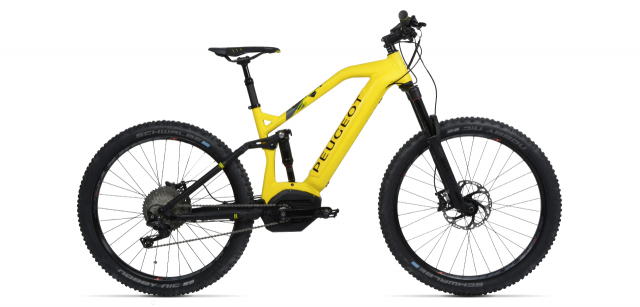 elctric mountain bike with integrated battery