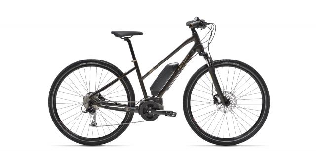Mixte electric trekking bike Peugeot eT01 Sport