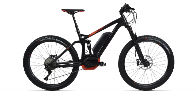 Electric mountain bike Peugeot eM02 FS 27.5+ XT 11