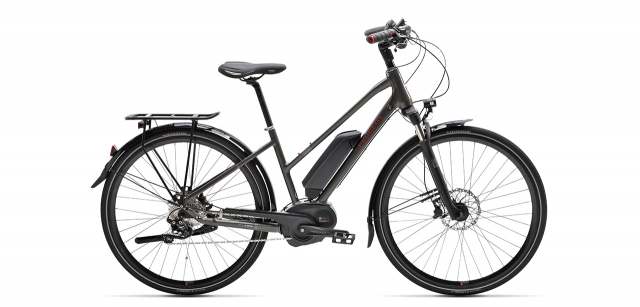 Mixte electric trekking bike eT01 XT 10