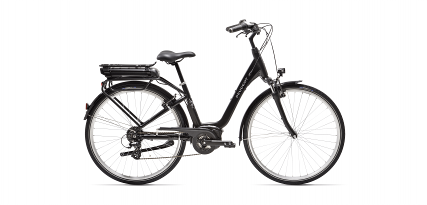 Electric City bike Peugeot eC02 with Bosch Active Line engine