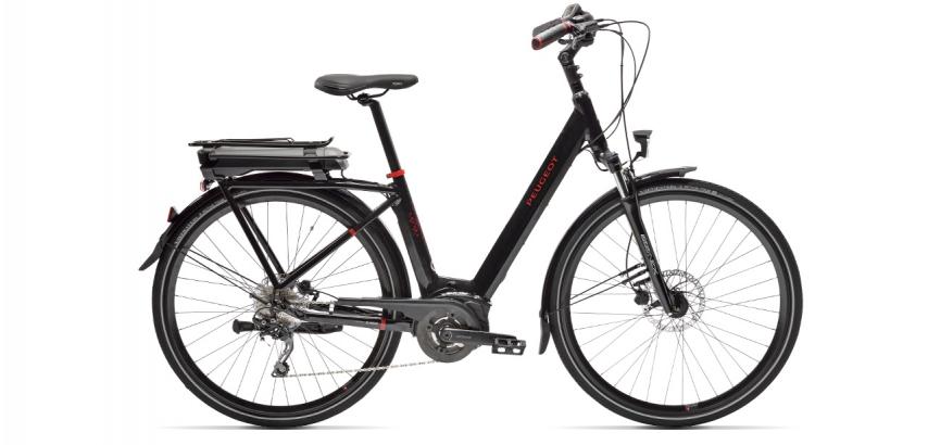 Electric city bike Peugeot eC01 D10