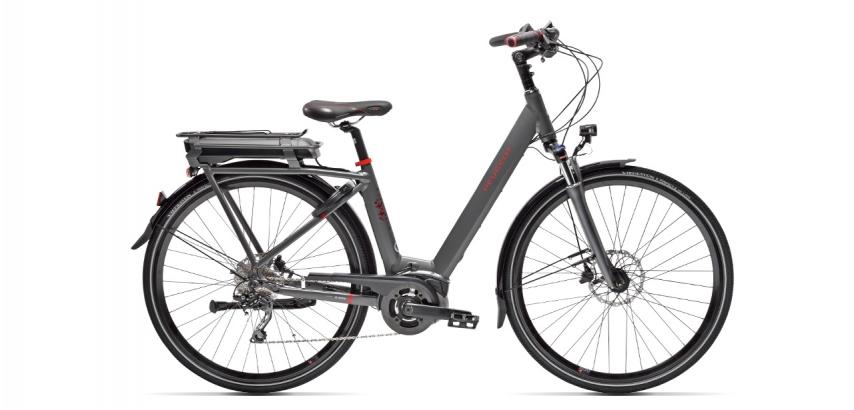 Electric city bike Peugeot eC01 D10 Plus
