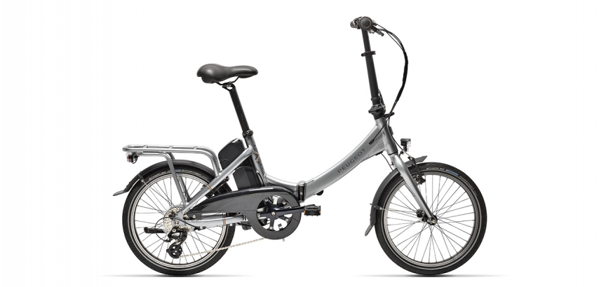Electric folding bike Peugeot eF02