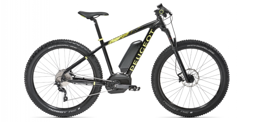 Electric mountain bike eM02 27,5+ SLX 10