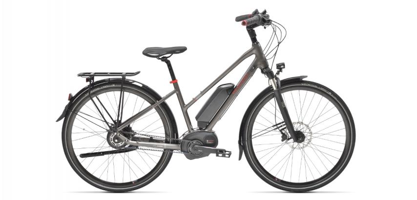 Mixte electric trekking bike Peugeot eT01 Nuvinci