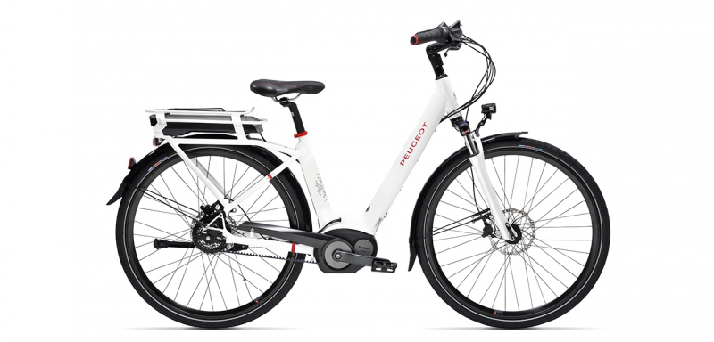 electric city bike Peugeot eC01 Nuvinci Belt